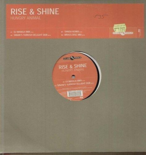 Bild 1: Rise + Shine, Hungry animal (DJ Manga Remix, 1996/99)