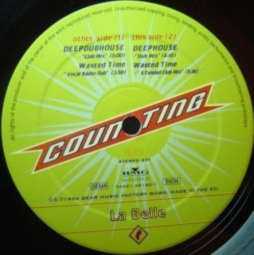 Bild 1: La Belle, Deephouse (DJ Quicksilver Remix, 1996)