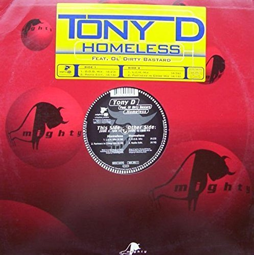 Bild 1: Tony D., Homeless (1998, feat. Ol' Dirty Bastard)