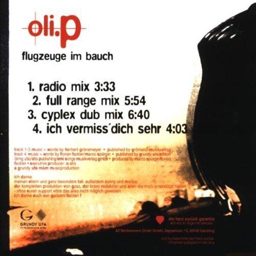Bild 2: Oli. P, Flugzeuge im Bauch (1998)