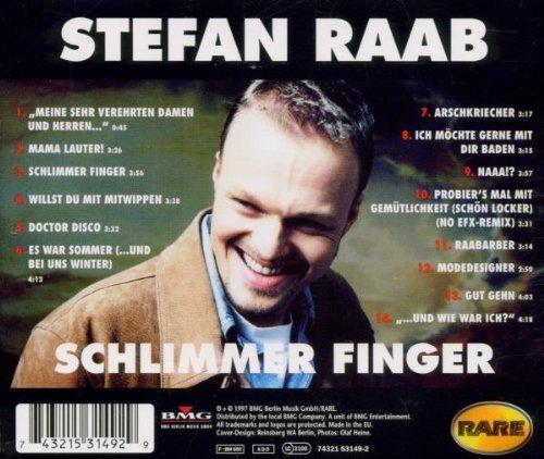 Bild 2: Stefan Raab, Schlimmer Finger (1997)