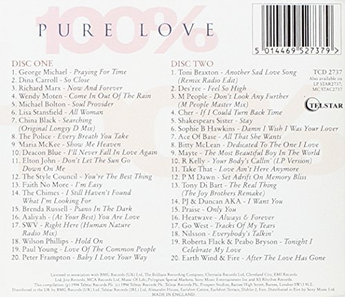 Bild 2: 100% pure Love, George Michael, Police, Style Council, Toni Braxton, Des'ree, Cher, R. Kelly..