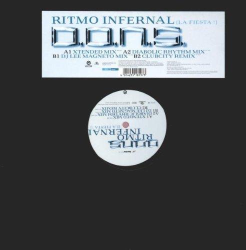 Image 1: D.O.N.S., Ritmo infernal (la fiesta!; 4 versions, 1999)