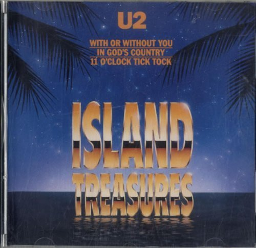 Bild 1: U2, Island treasures (e.p., 3 tracks, 1990, US)