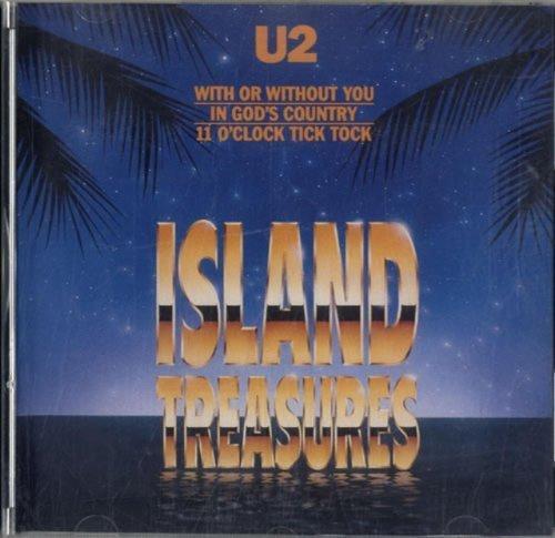 Bild 1: U2, Island treasures (e.p., 3 tracks, 1990, US)
