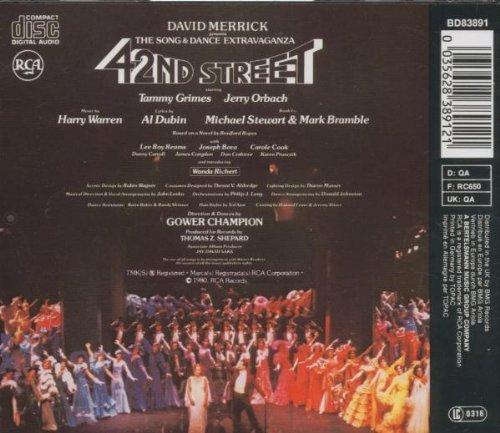 Bild 3: 42nd Street (1980), Original Broadway cast