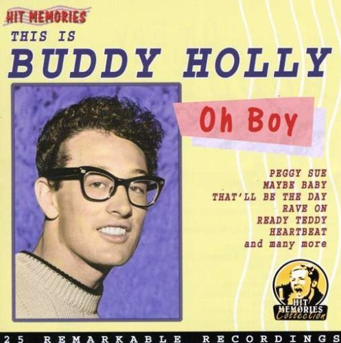Bild 1: Buddy Holly, Oh boy, this is Buddy Holly-25 remarkable recordings