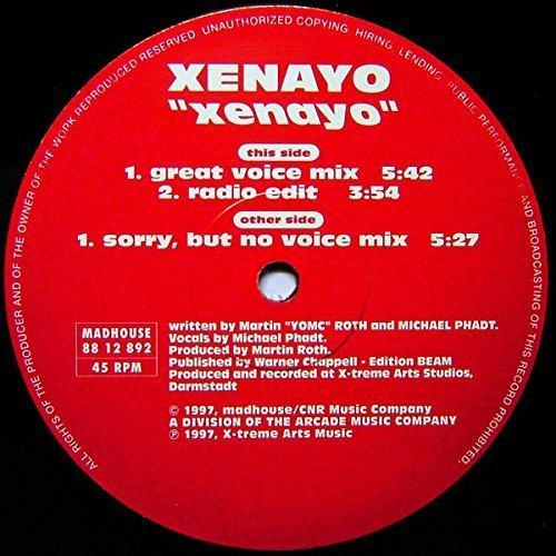Bild 1: Xenayo, Xenayo (1997)