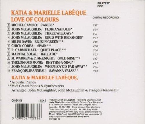 Bild 2: Katia & Marielle Labèque, Love of colours (1991)
