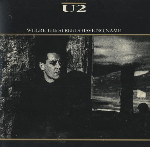 Bild 1: U2, Where the streets have no name (1987, #cid340, foc-cardsleeve)
