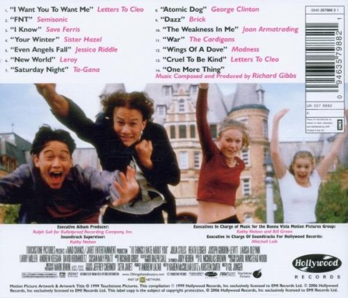 Bild 4: 10 Things I hate about You (1999), Letters to Cleo, Save Ferris, Cardigans..