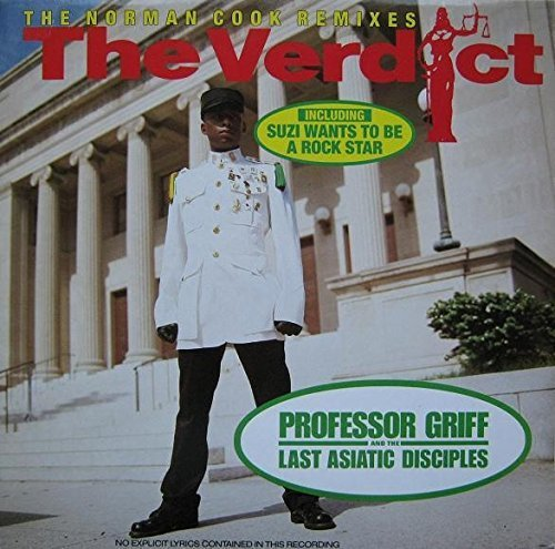Bild 1: Professor Griff, Verdict (Norman Cook Remixes, 1990, & Last Asiatic Disciples)