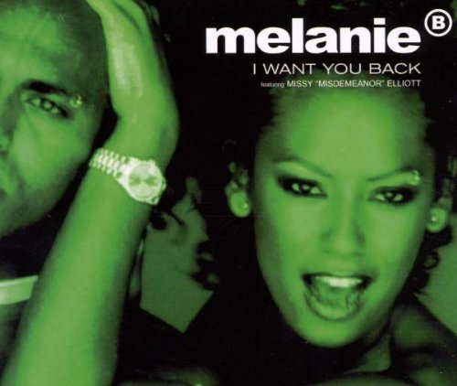 Bild 1: Melanie B., I want you back (1998, feat. Missy Elliott)