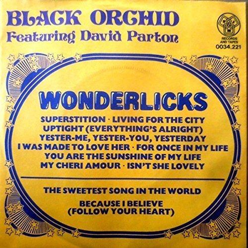 Bild 1: Black Orchid, Wonderlicks (Special Long Version, 7:57min., 1981, feat. David Parton)