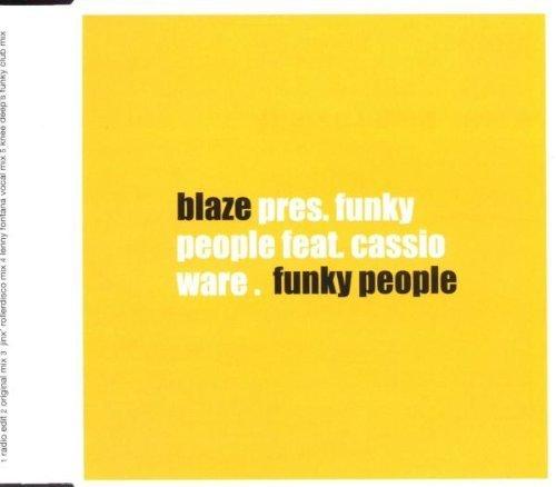 Bild 1: Blaze, Funky people (1999, feat. Cassio)