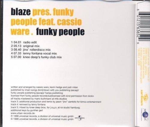 Bild 2: Blaze, Funky people (1999, feat. Cassio)