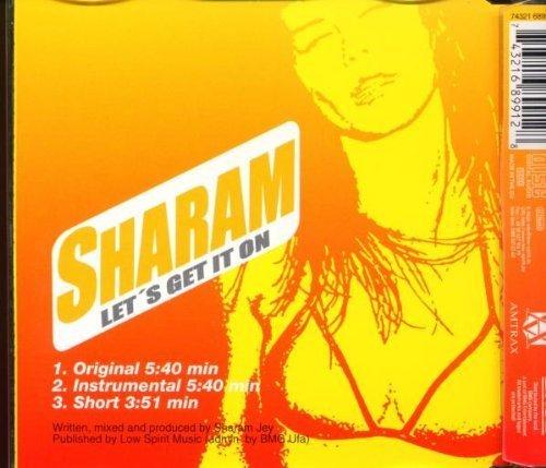 Bild 2: Sharam, Let's get it on (1999)