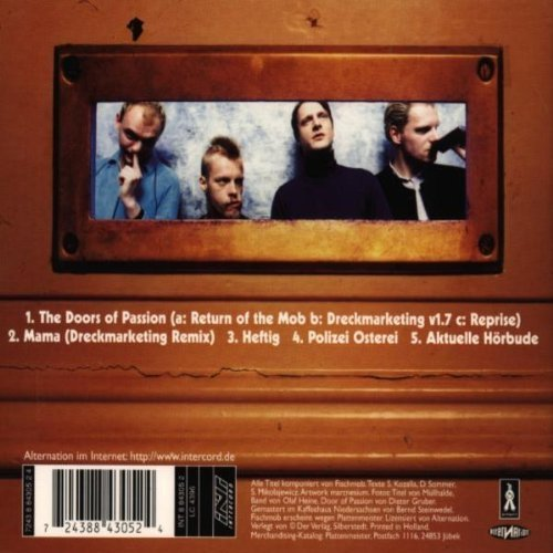 Bild 2: Fischmob, Doors of passion (e.p., 1997)