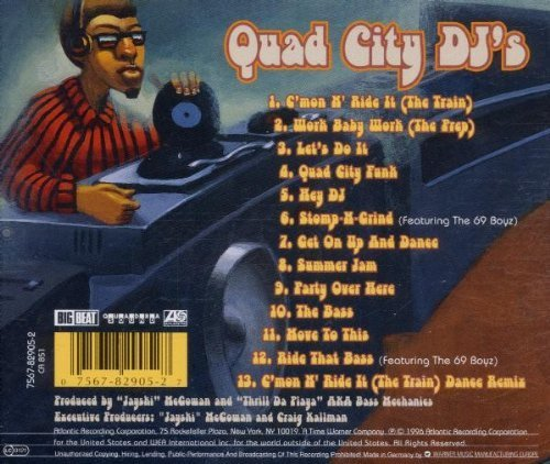 Bild 2: Quad City DJ's, Get on up and dance (1996)