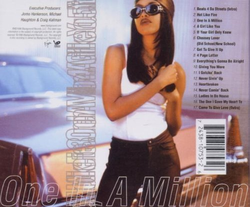 Bild 3: Aaliyah, One in a million (1996; 17 tracks)