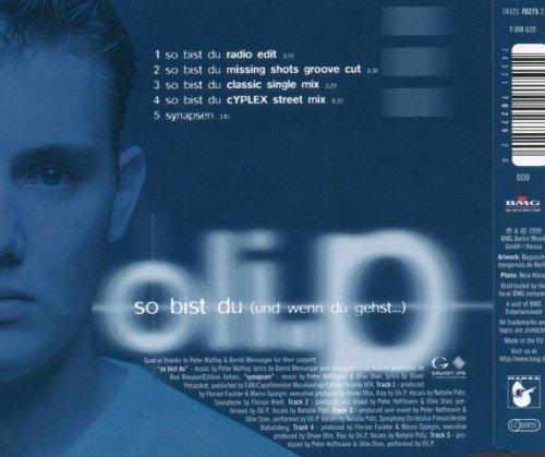 Bild 2: Oli. P, So bist du (1999)
