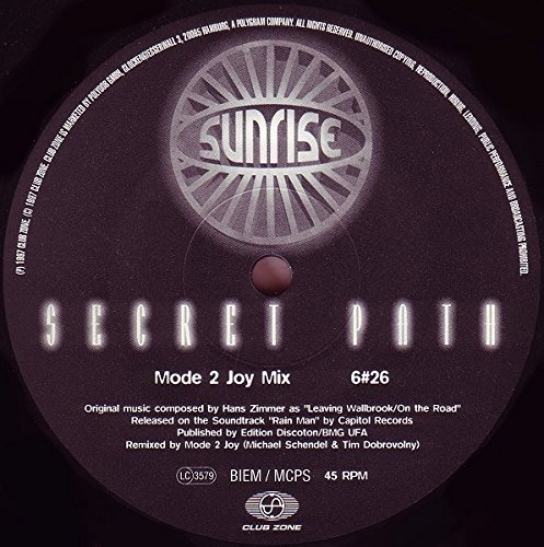 Bild 1: Sunrise, Secret path (1996)
