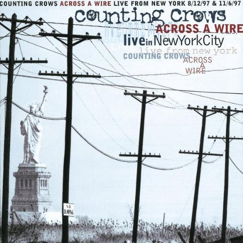 Bild 1: Counting Crows, Across a wire (live in NYC, 1997/98)