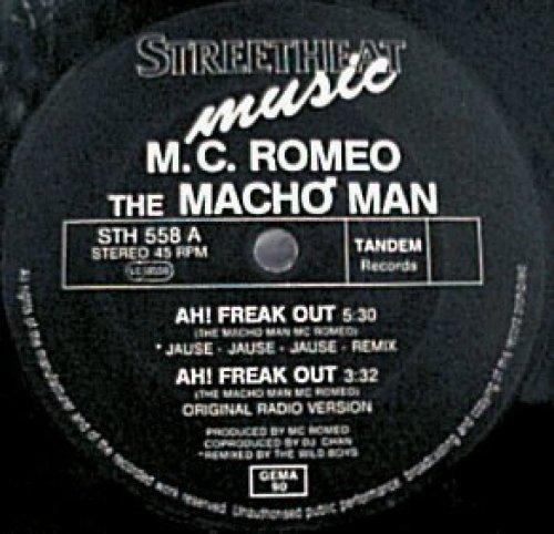 Bild 1: M.C. Romeo, Ah freak out (Jause Remix)