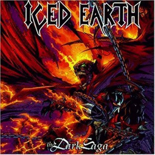 Bild 1: Iced Earth, Dark saga (1996)