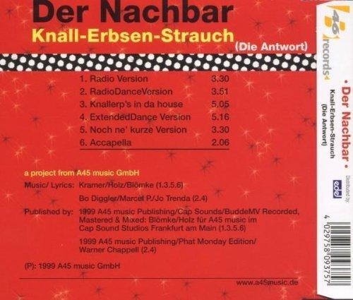 Bild 2: Der Nachbar, Knall-Erbsen-Strauch (Die Antwort; 1999)