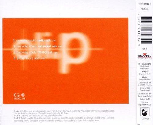 Bild 2: Oli. P, Niemals mehr (2000)