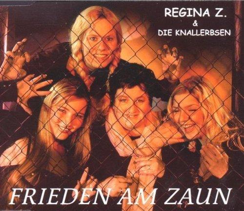 Bild 1: Regina Z.(indler) & Knallerbsen, Frieden am Zaun (2000)
