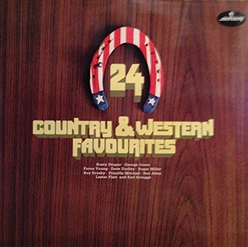 Bild 1: 24 Country & Western Favourites, Rusty Draper, George Jones, Faron Young, Dave Dudley, Roger Miller, Roy Drusky..