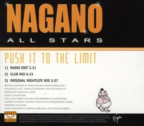 Bild 2: Nagano All Stars, Push it to the limit (1999)