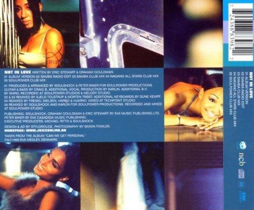 Bild 2: Juice, Not in love (1999)