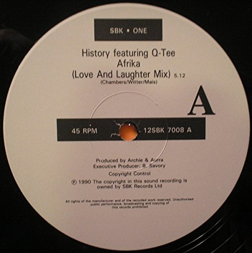Bild 2: History, Afrika (Love and Laughter Mix, 1990, feat. Q-Tee)