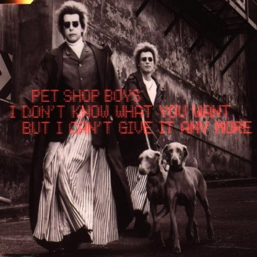 Bild 1: Pet Shop Boys, I don't know what you want but.. (1999, #8874790)
