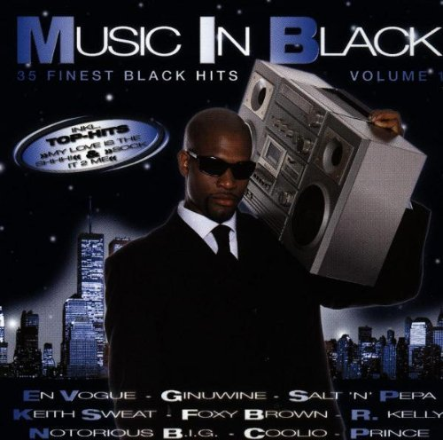 Фото 1: Music in Black 1 (1998, Warner), En Vogue, Ginuwine, Salt'n'Pepa, Keith Sweat..
