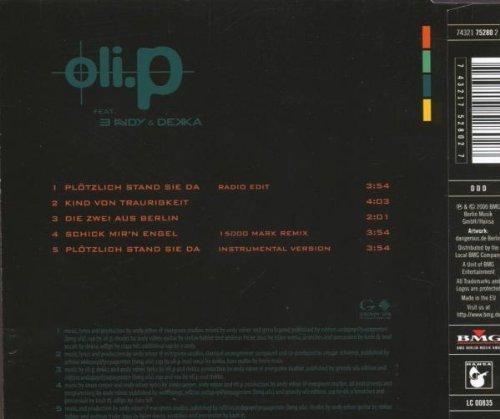 Bild 2: Oli. P, Plötzlich stand sie da (2000)