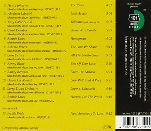 Bild 2: 101 South-The Heartbeat of California 2, Henry Johnson, Abraham Laboriel, Tony Gable & 206, Carol Knauber, Ronnie Laws..