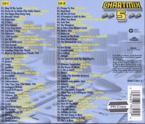 Bild 2: Chart Mix 5 (1999), Wamdue Project, Ann Lee, Chicane, Hermes House Band, Moby..
