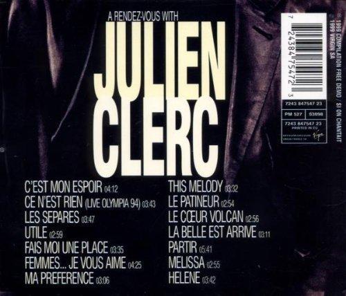 Bild 2: Julien Clerc, A rendez-vous with (1999)