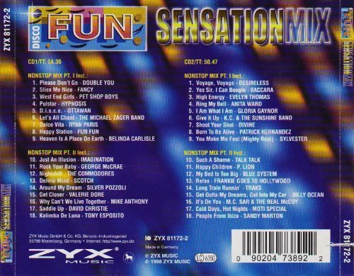 Bild 2: Disco Fun Sensation Mix, Fancy, Pet Shop Boys, Hypnosis, Ottawan, Fun Fun..