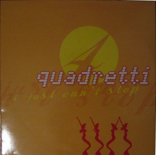 Image 1: Quadretti, I just can't stop (3 versions, 1997)