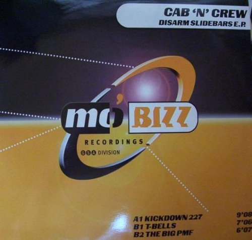 Фото 2: Cab 'n' Crew, Disarm slidebars EP (1998)