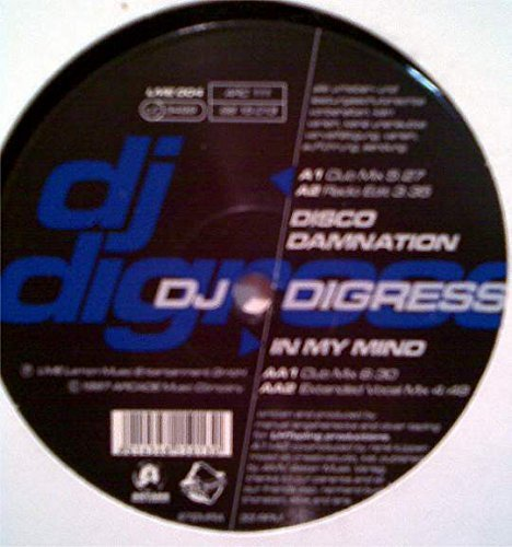 Bild 1: DJ Digress, In my mind/Disco damnation (2 versions each, 1997)