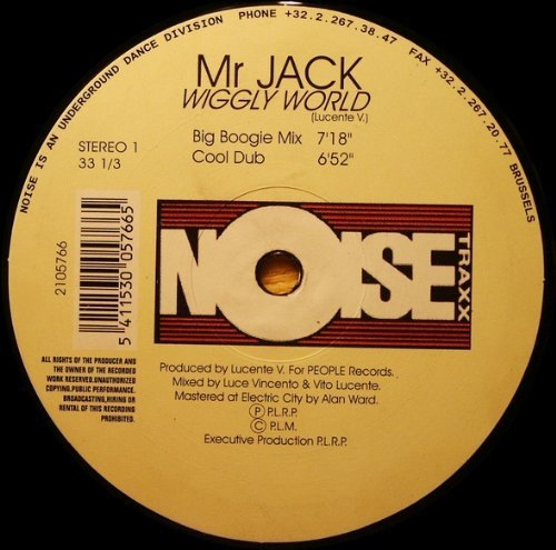 Bild 1: Mr. Jack, Wiggly world (Big Boogie)