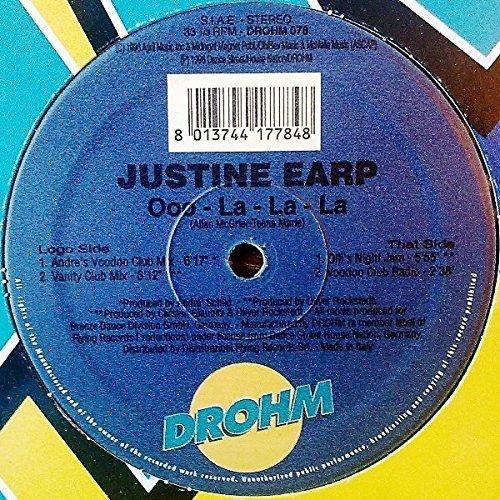 Bild 1: Justine Earp, Ooo-la-la-la (Andrés Voodooclub Mix)