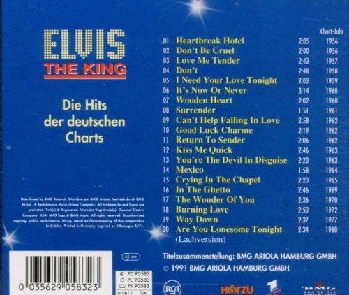Bild 2: Elvis Presley, Die Hits der deutschen Charts (1991, RCA)