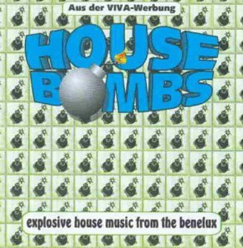 Bild 1: House Bombs-Explosive House Music from Benelux (1996), N.B.G., Tecmania Rebel, Allium, Joy, Klubbheads..